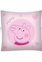 BrandMac ApS Peppa Wutz Kinder-Bettwäsche Bettbezug 135x200 Kissenbezug 80x80 Baumwolle Mädchen Pig