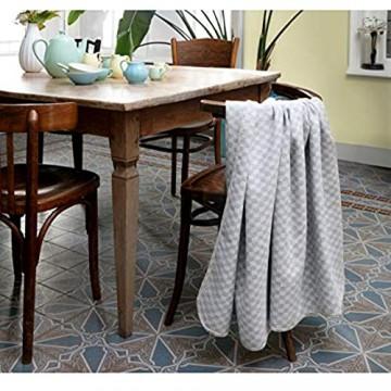 biederlack Lucky Decke Überwurf Sofaüberwurf Baumwolle Mehrfarbig 160 x 200 cm