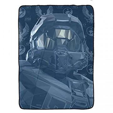 Jay Franco Halo Duty & Honor Decke 152 4 x 228 6 cm Kinderbettwäsche mit The Master Chef farbecht sehr weiches Fleece offizielles Produkt