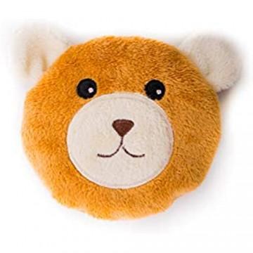 Habibi Plush Wärme Kissen Bär mit herausnehmbaren Säckchen mikrowellenfähig