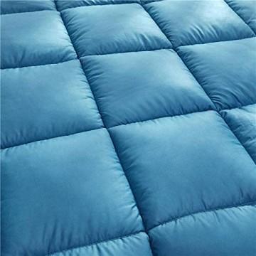 CHOU DAN 4 Jahreszeiten Steppdecke Microfasern waschbar Decke 135 x 200 cm