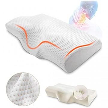 ZYHWS Orthopädisches Memory-Foam-Kissen Slow Rebound Soft-Speicher-Schlafkissen (Size : 50x30cm)
