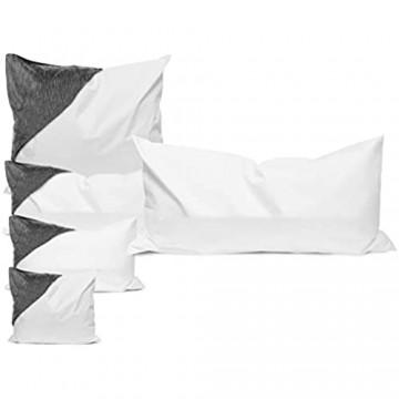 Allergendichte Kissen-Zwischenbezüge - wirksam gegen Milben Bakterien und Pilze - verbinden optimal Allergieschutz und hohen Schlafkomfort - erhältlich in 4 verschiedenen Größen 40 cm x 80 cm