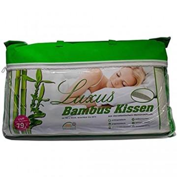 Muxel Bambuskissen Bambuskopfkissen Kopfkissen Nackenstützkissen Orthopädisches Kissen 1 Kissen