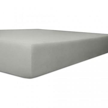 Kneer 9301984 Spannbetttuch Qualität 93 Exclusiv-Stretch 180/200-200/220 cm Schiefer