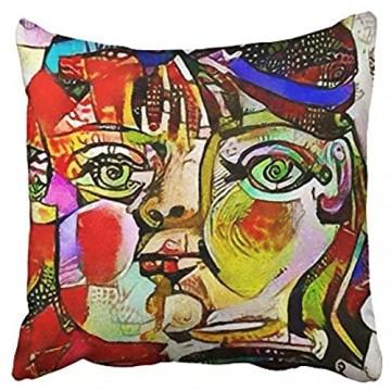 AEMAPE Kissenbezüge Alternative Reproduktionen Berühmte Gemälde Picasso Applied Abstract Kandinsky Designed 40X40 cm Kissenbezug