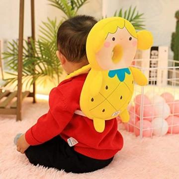 Baby Anti-Fall Kopfkissen Plüschtiere Babys Lernen sitzen und gehen Wird als Siegel Rückenkissen Gift-Girl_32 cm 0 26 Kg bezeichnet