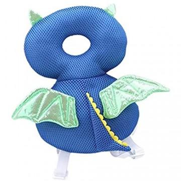 DYSCN Baby Kopfschutz Kleinkind Anti-Fall Kopfpolster Niedlich Kleinkind Baby Kopfschutz Kissen Rucksack tragen
