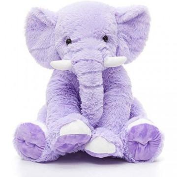 Elephant baby pillow stuffed soft plush elephant toy breastfeeding pillow giant elephant children's plush toy baby toy room decoration 30cm