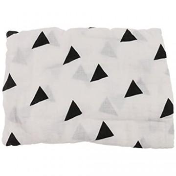 1pcs Babydecke Kinderdecke Kuschlig Weich Schmusedecke Baby Decke Kuscheldecke Baumwolle - Dreieck