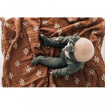 Mebie Baby Wickeltuch Chestnut Textiles Musselin