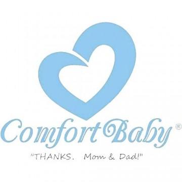 ComfortBaby ® Himmel/Betthimmel (RosaMitWeissenKreisen)