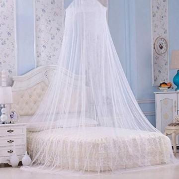 Tree-de-Life Summer Canopy Moskitonetz Atmungsaktive Kinder Kinder Bettwäsche Moskitonetz Baby Mädchen Bettdecke Bett Baldachin für Kinder - weiß
