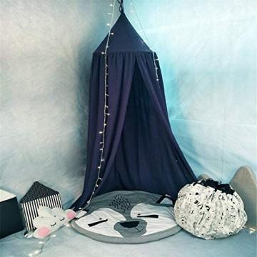 XGBDTJ Bett Baldachin Für Kinder Baumwolle Moskitonetz Living Hängenden Mode Vorhang Baby Indoor Outdoor Spiel Lesen Zelt Bett Schlafzimmerdekoration Insektenschutz