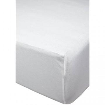 Clinotest Jerseyspannbettlaken für Boxspringbetten Bettlaken/Spannbetttuch/Laken in verschiedenen Maßen (90/100x200x40 cm)