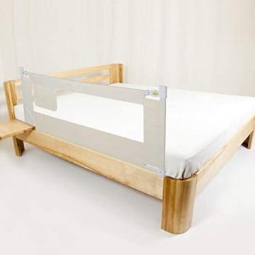 Babybettgitter faltbar Sicherheits-Befestigung/Schutz für Kinderbett Garantieren Sie die Schlafqualität Bed rail Stange Schutzbügel mit Schnalle 2M