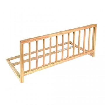 nordlinger Pro Bett-Herausfallschutz aus Holz natur 122cm