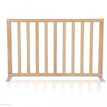 QIANDA-Bettgitter Bettschutzgitter Holz Extra Groß Und Lang Schlafprotektoren Verhindert Das Fallen Aus Dem Bett Sicherheit Für Babykinder 3 Längen (Farbe : No Door größe : 90cm)