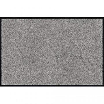 wash+dry Fußmatte Cool Grey 40x60 cm innen und außen waschbar hellgrau