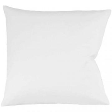 Fleuresse 9200 colours Interlock Jersey Kissenbezug aus 100% Baumwolle Oekotex Standard 100 35 x 40 cm weiß