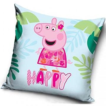 Peppa Pig Kissenbezug Maße ca.: 40 x 40 cm