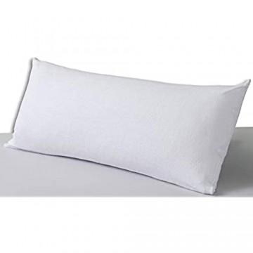 Velfont – Frottee-Kissenbezug aus Baumwolle. Anti Allergie Wasserdicht und atmungsaktiv – verfügbar in verschiedenen Größen (40x80cm)
