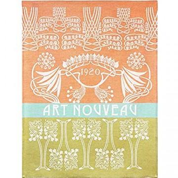 Moutet Torchon Küchenhandtuch Geschirrtuch Handtuch hochwertige Baumwolle in Frankreich gewebt limitiertes Motiv Art Nouveau