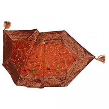 Marrakech Accessoires Orientalischer Tischläufer Tischdeko Tischdecke Tischband ca. 150 x 45 cm - 905302-0030