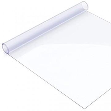 ANRO Tischdecke Tischfolie Schutzfolie Tischschutz Auflage 2mm dick transparent 120x240cm