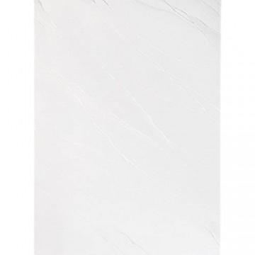 Damast YSN610 Tischdecke Lotuseffekt - 160 cm rund - weiß