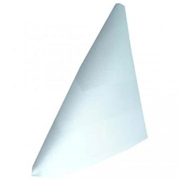 Grevotex 10St. Damast Serviette Stoffserviette Mundserviette weiß mit Atlaskante 40x40 cm