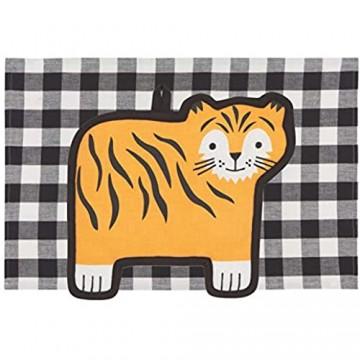 Now Designs 2029006aa Pocket Pals Küchentuch und Topflappen Set Tessa Tiger