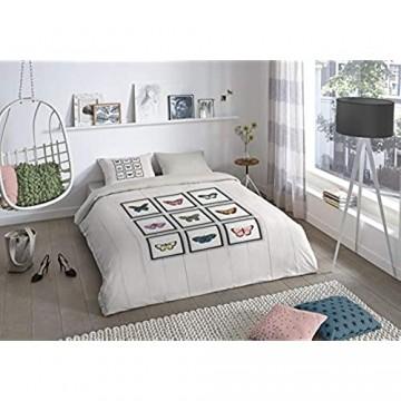 Good Morning! Bettbezug Grau 240 x 220 cm