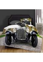 VICCHYY Bettbezug-Bettwasche Alfa Romeo 1750Cc Zagato Mikrofaser 140x200cm mit 2 Kissenbezugen 50x80cm
