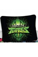 BrandMac ApS Teenage Mutant Ninja Turtles Kinder-Bettwäsche-Set 135x200 Baumwolle Wendebettwäsche
