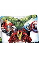 BrandMac Marvel´s The Avengers Kinder-Bettwäsche-Set 135x200 80x80 Baumwolle Hulk