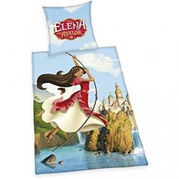 Disney Elena von Avalor Bettwäsche mehrfarbig 80x80 135x200 cm